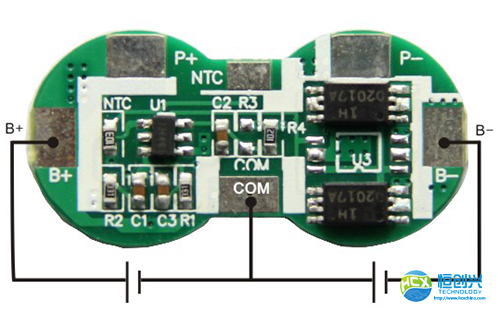 锂电池保护板的接线简化教程