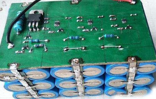 自制三串锂电池保护板