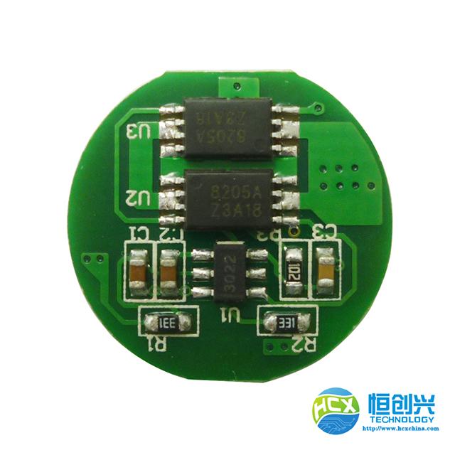 2串4A HCX-2471智能家居锂电池保护板