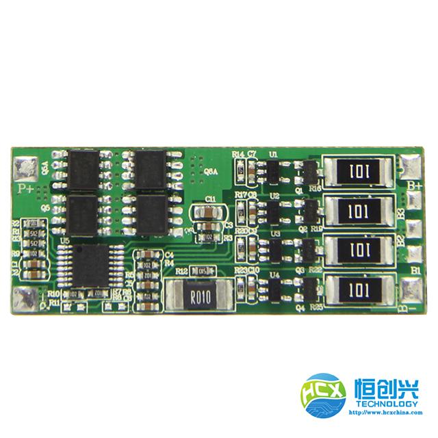 3-4串8A HCX-D119电量计锂电池保护板