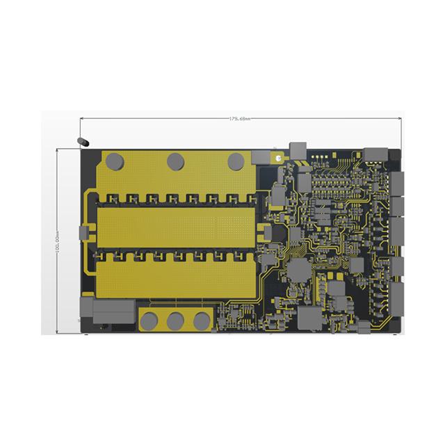 028V02 MOS bms电池管理系统 锂电池保护板