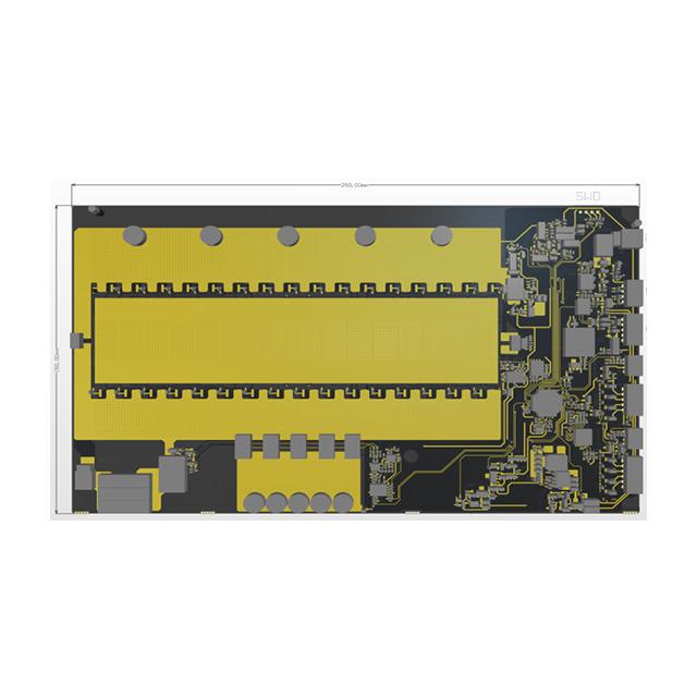 027V02 MOS bms设计方案 锂电池保护板